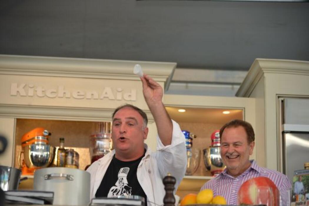 Este año, el chef José Andrés, preparó una oda a la sandía.