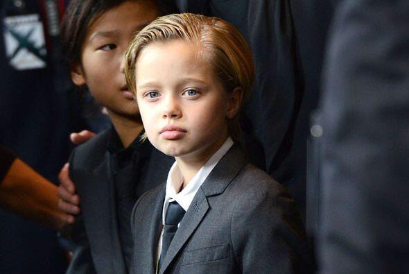 La hija de Brad Pitt y Angelina Jolie se robó las miradas la noche del l...