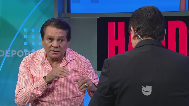 """Un lujo de Univisión Deportes: clases de boxeo con Roberto """"Mano de Pied..."""