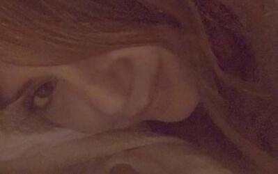 Andrea es una bella durmiente.