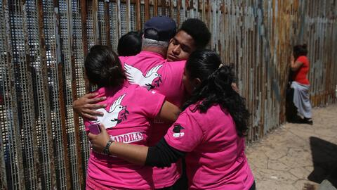 El programa que logra abrir momentáneamente la frontera para unir famili...