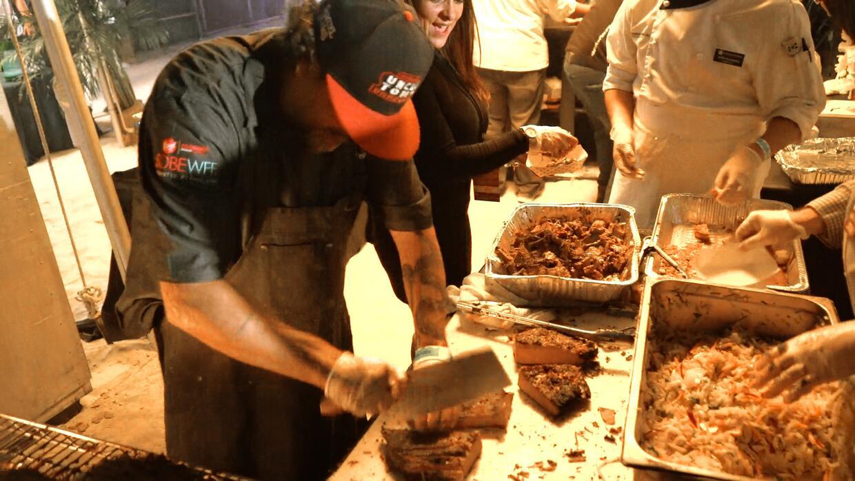 Meatopia reunió a 25 cocineros de Estados Unidos especializados en carne