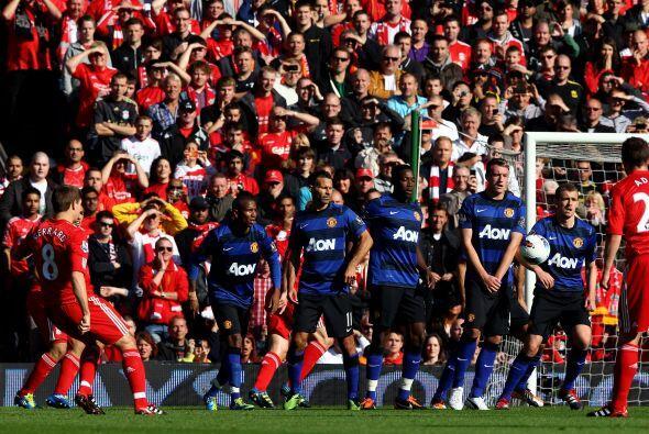 No se podían sacar ventaja hasta que el Liverpool tuvo un tiro li...