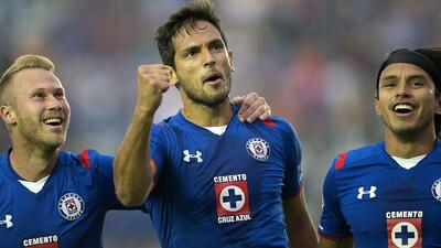 Cruz Azul 2 - Tigres 0: La UANL se duerme y Santa Cruz decide con doblete