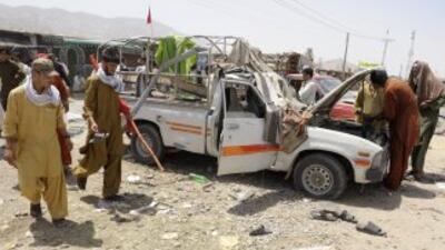 El gobernador del distrito Chak, Mohammad Ismael, fue asesinado en un at...