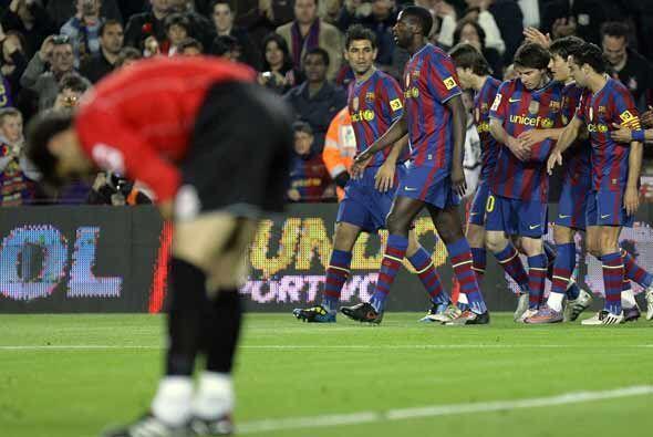 Yaya Touré marcó el definitivo gol para el triunfo del Bar...
