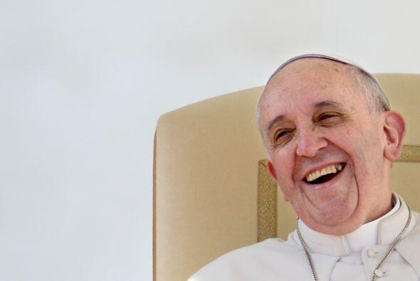 En julio hizo sonreir a sus feligreses con esto: ¡La fe es entera,...