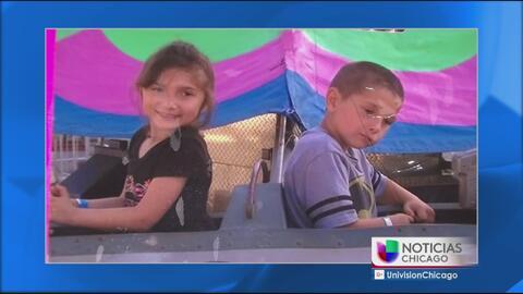 Familiares de los dos niños asesinados en Indiana tratan de entender lo...