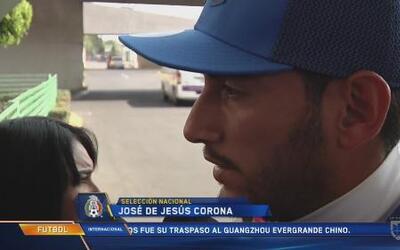 """José de Jesús Corona: """"Muy contento, he trabajado muy duro para regresar..."""