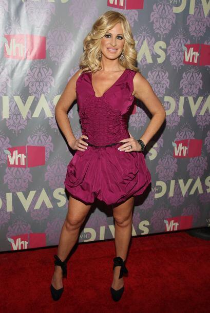 Kim Zolciak es una sexy artista y personalidad de la televisión a...
