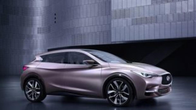 El Q30 será el primer medelo Infiniti que saldrá de la nueva fábrica de...