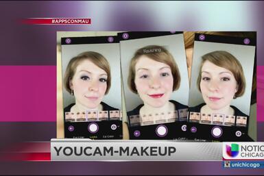 Mau te presenta un app que te maquilla