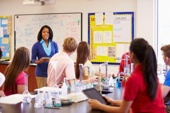 3,1 millones: La cantidad de maestros y maestras a tiempo completo que t...