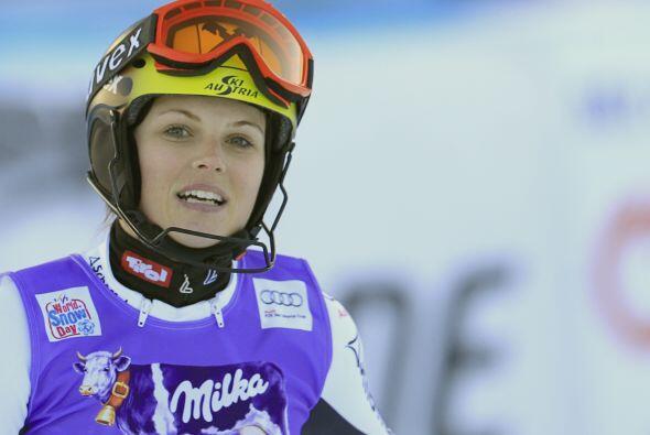 La austriaca Anna Fenninger, atleta de esquí alpino, tambi&eacute...