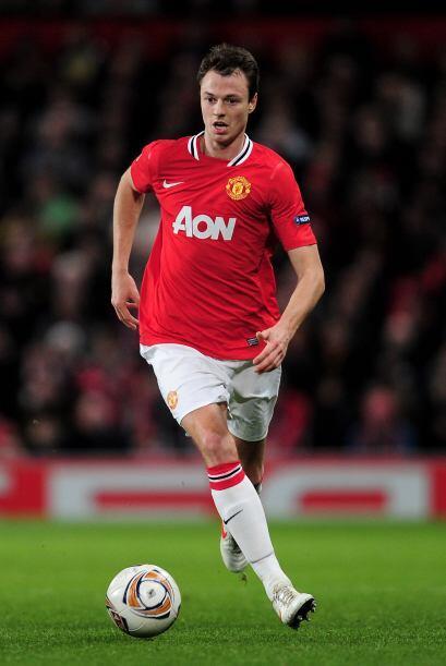 El último hombre en la zona baja es Jonathan Evans del Manchester United.