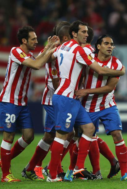 La Liga Europa se quedó en las manos del equipo del 'Cholo' Simeone.