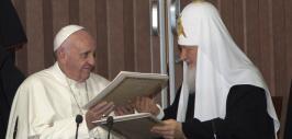Papa Francisco con Patriarca Kirill