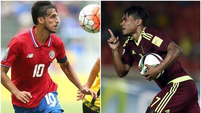 Costa Rica enfrentará en amistoso a Venezuela