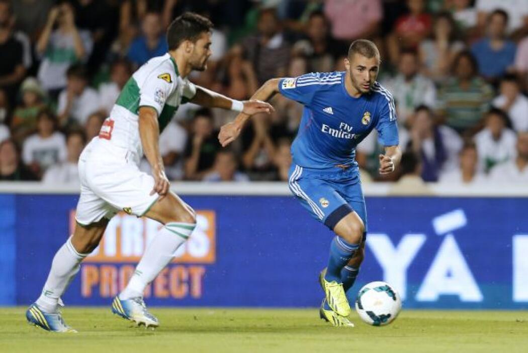 Poco a poco el Madrid se veía mejor en el campo.