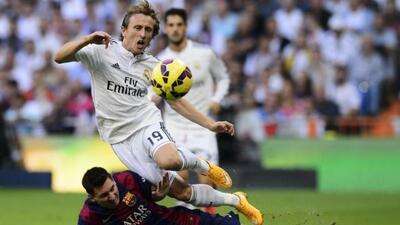 El croata acumuló seis clásicos jugados desde su llegada al Madrid.
