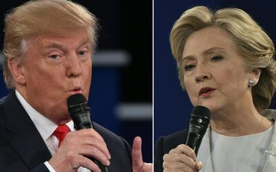 Donald Trump y Hillary Clinton, empatados en Georgia