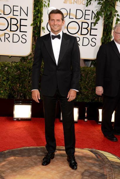 Tom Ford también estuvo presente en el atuendo de Bradley Cooper.