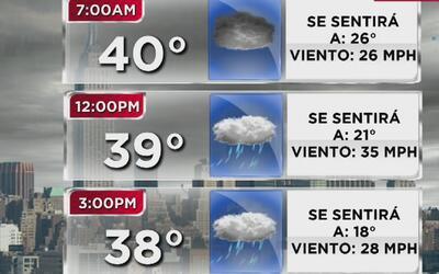Alerta de tormenta y vientos peligrosos este lunes en Nueva York, Nueva...