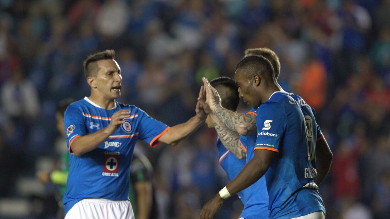 Cruz Azul goleó 5-2 a Cafetaleros