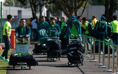 La Villa Olímpica en Río ya recibió a sus primeros huéspedes.