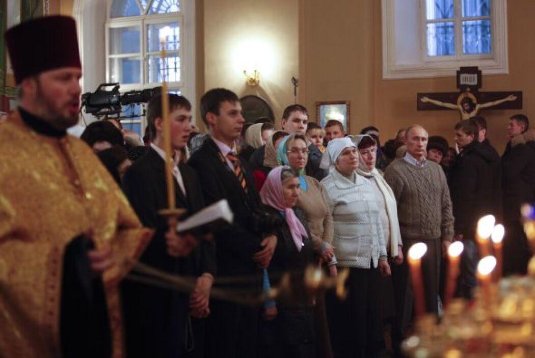 La temporada navideña rusa es la mezcla entre la celebración religiosa c...