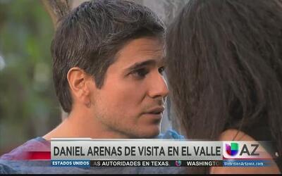 ¡Daniel Arenas visitó Phoenix!