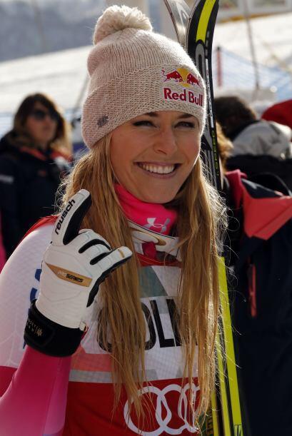 Lindsey Vonn ganó la prueba de descenso en la Copa del Mundo de e...