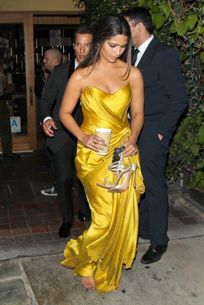 Fue Camila Alves, esposa de Matthew McConaughey, quien de plano solt&oac...