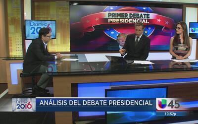 ¿Quién ganó el primer debate presidencial?