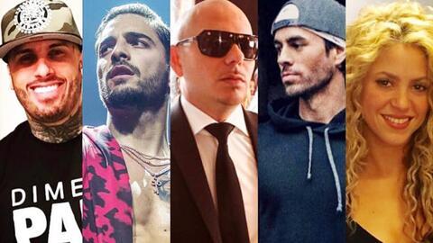 Ellos son los 5 artistas latinos más destacados y buscados en YouTube