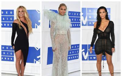 Britney Spears, Beyoncé y Kim Kardashian unas de las mejor vestidas de l...