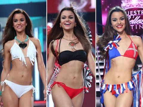 El escenario de Nuestra Belleza Latina se calentó con las exquisi...