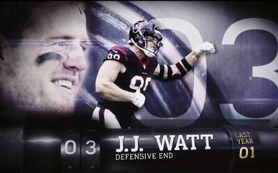 TOP 100 jugadores 2016 #3 J.J. Watt