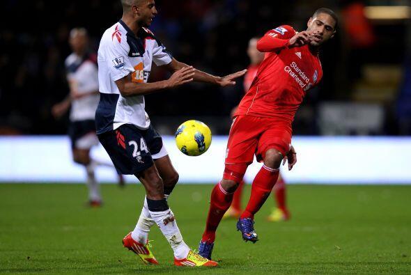 Parecía que los 'Reds' llegaban al empate pero nada fue así.