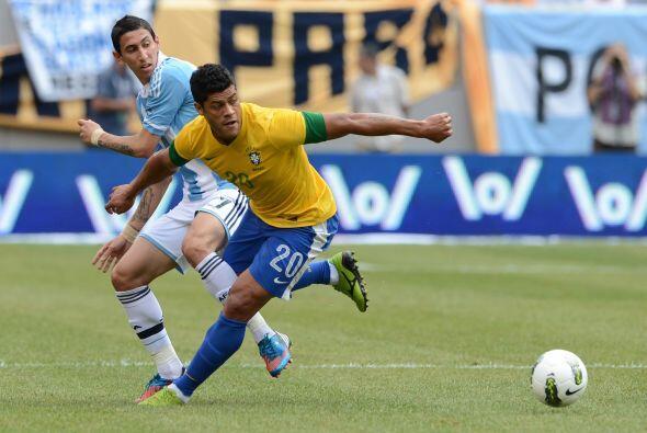 Brasil tuvo una ligera reacción cuando Hulk y Oscar Dos Santos marcaron...