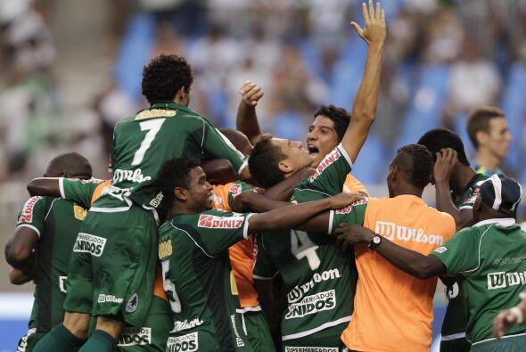 El modesto cuadro del Boavista celebró su pase a la final.