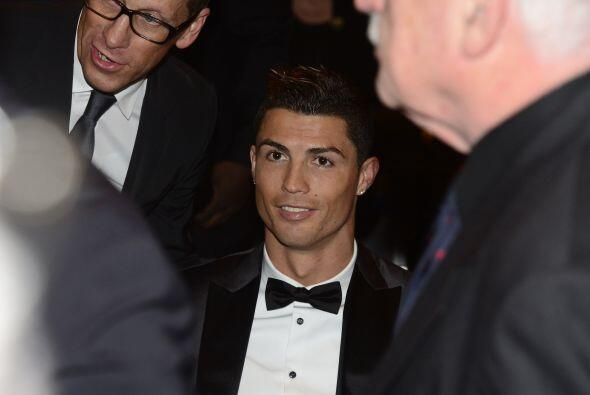 Cristiano Ronaldo, de los hombres que más reflectores acapararon,...