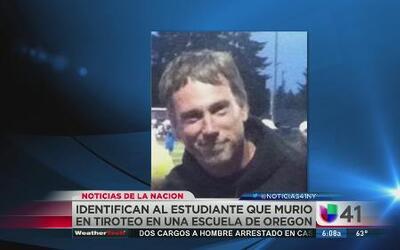 Identifican a estudiante que murió en Oregon