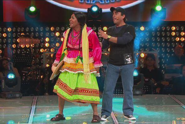 Por lo que Cantinflas se fue para darle lugar a la India María, q...