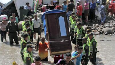 Gobierno venezolano demuele casas de colombianos deportados