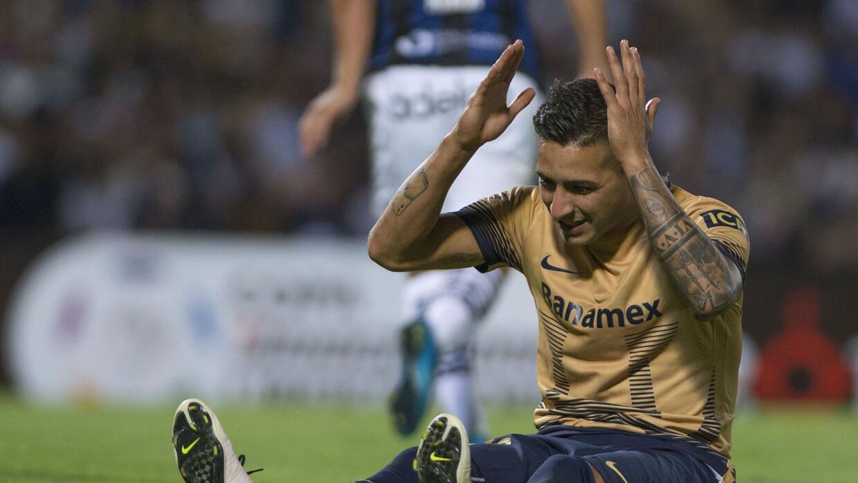 Ismael Sosa falló un penal