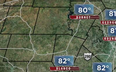 Temperaturas cálidas, el pronóstico para Texas