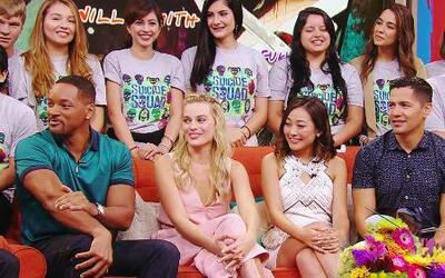 """Los interns de Univision entrevistaron a los actores de """"Suicide Squad"""""""