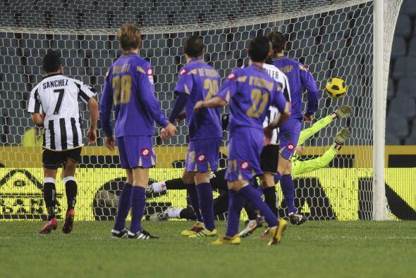 Los goles del Udinese fueron obra de Antonio Di Natale y el colombiano P...
