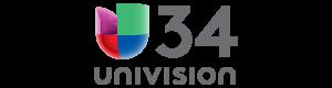 Univision 34 Header Logo